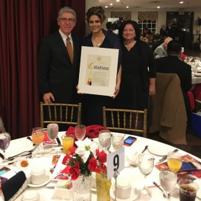 Julia Colmenares CNA - honored by the Peruvian American Chamber of Commerce