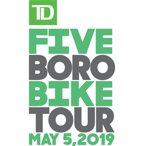 Bike With Us -  2019 TD Five Boro Bike Tour