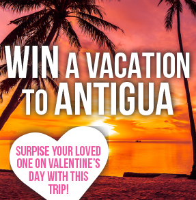Win a trip to Antiqua!