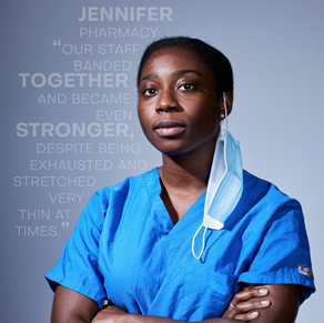Claudia Paul, a NYC based photographer highlights our healthcare heroes